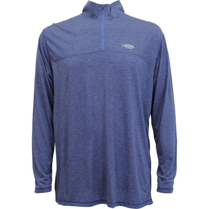 Aftco Connery 1/4 Zip Pullover- Ocean- M61402-OCE