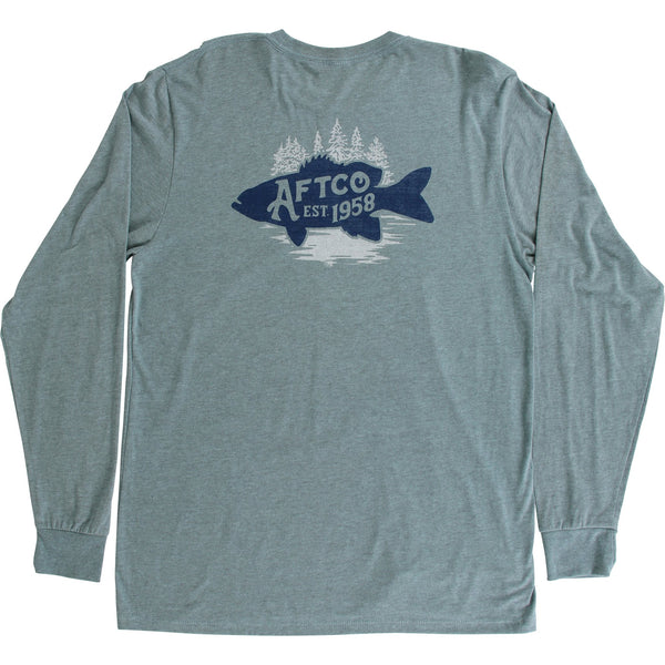 Aftco Driftwood Long Sleeve Tee