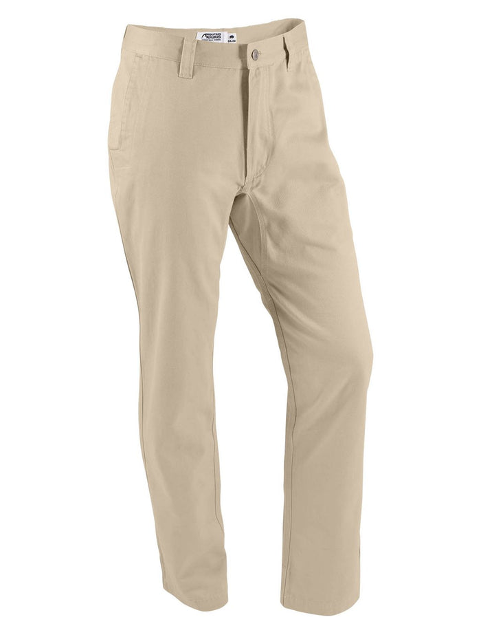 Mountain Khakis Teton Twill Slim Fit- Sand