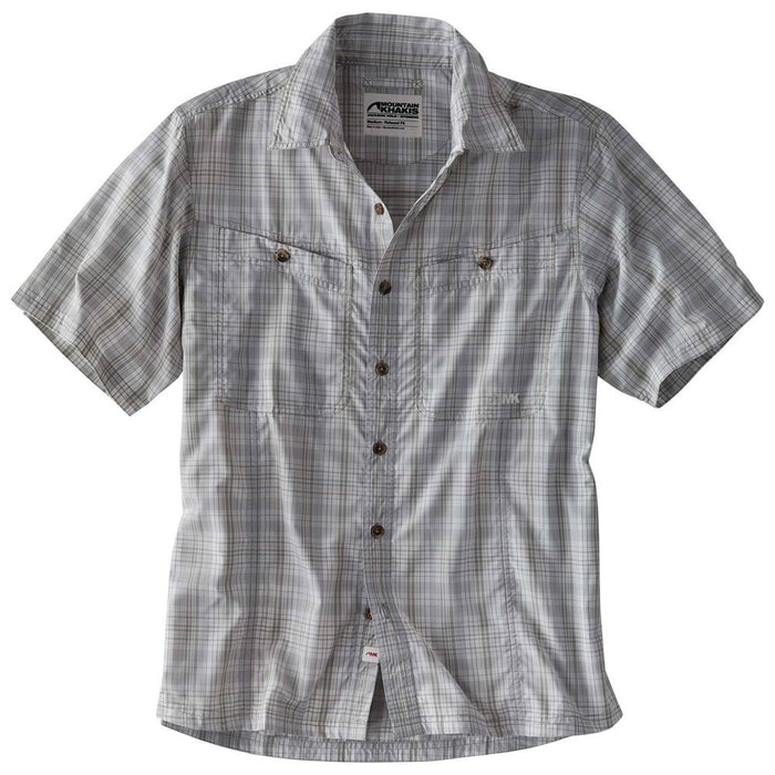 Mountain Khakis Trail Creek S/S Button Down- Smoke
