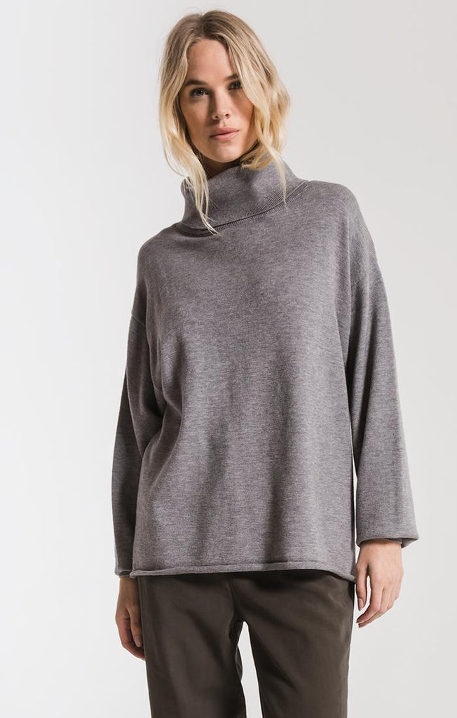 Rag Poets Fort Greene Turtleneck Sweater- RW193812