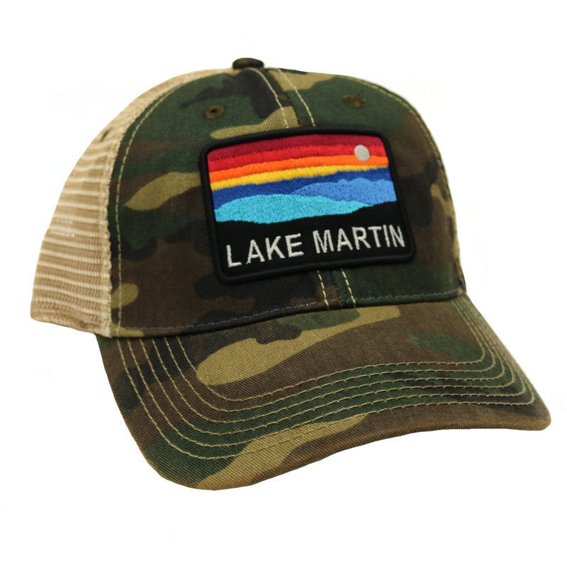 Lake Martin Sunset Trucker Hat