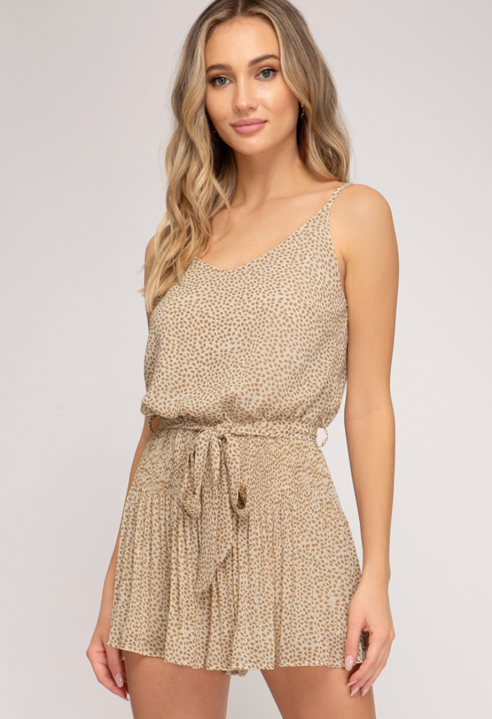 Spotted Looking Cute Romper