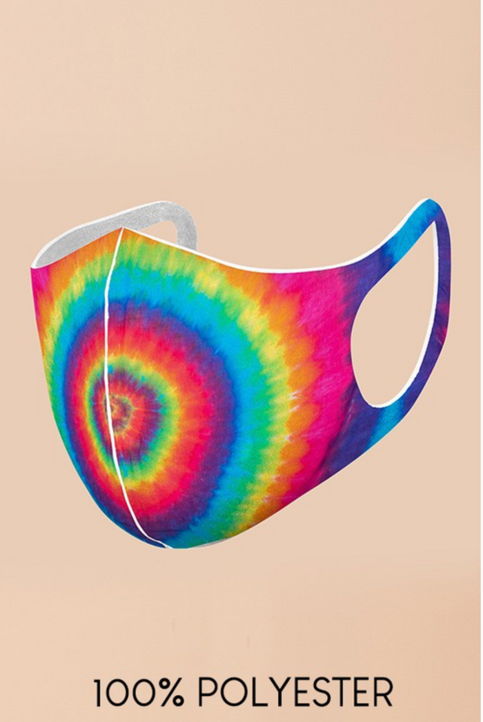 Tie Dye Adult Face Mask