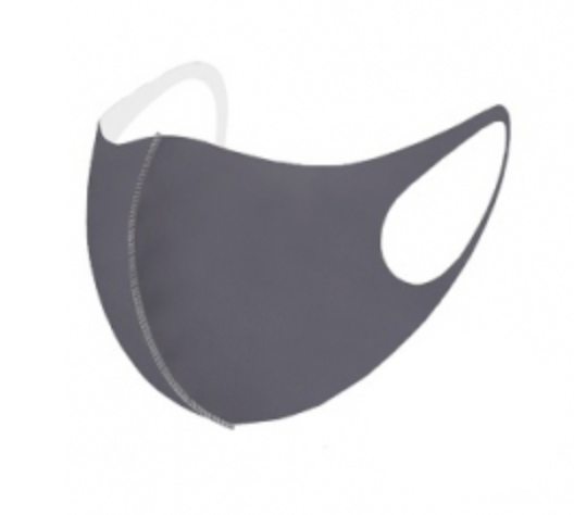 Neoprene Solid Face Mask- LMK000