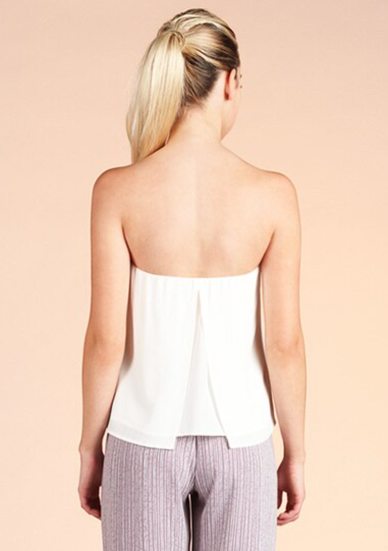 Simplest Chic Strapless Top