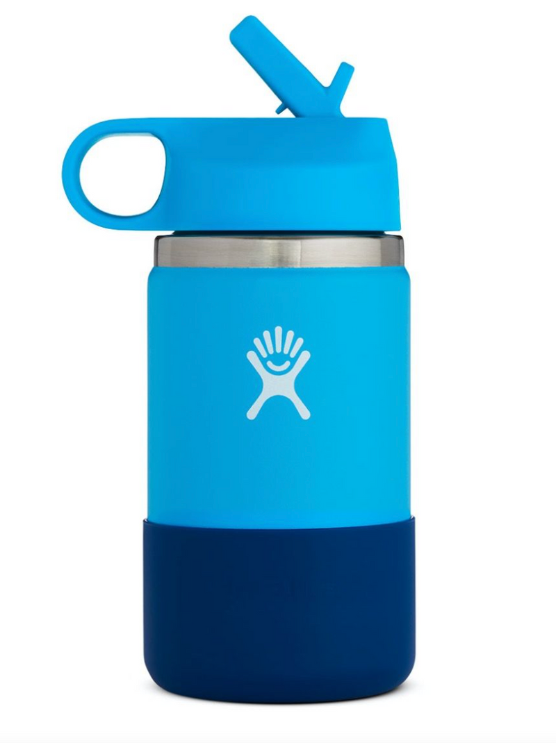 Hydro Flask 12oz Kids Wide Mouth Bottle with Straw Lid