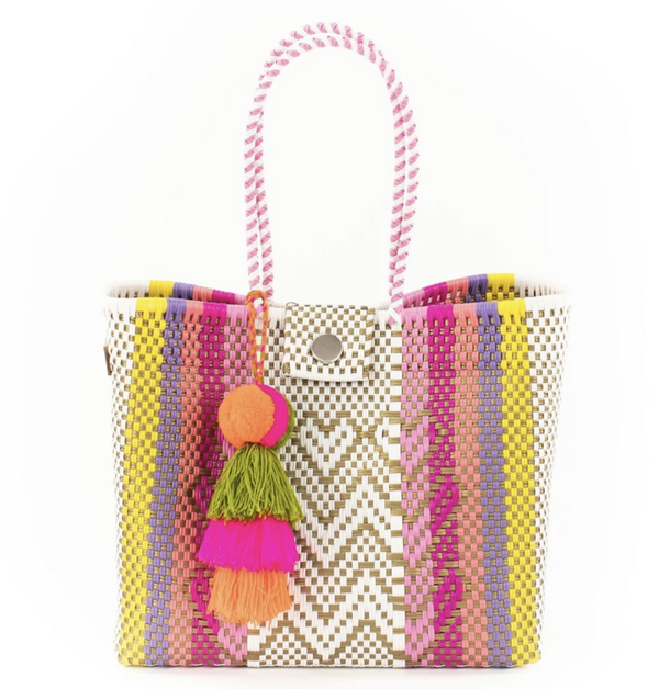 Squeeze De Citron Large Tote with Snap