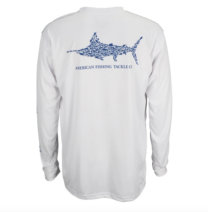 Aftco Men's Jigfish L/S Performance Tee