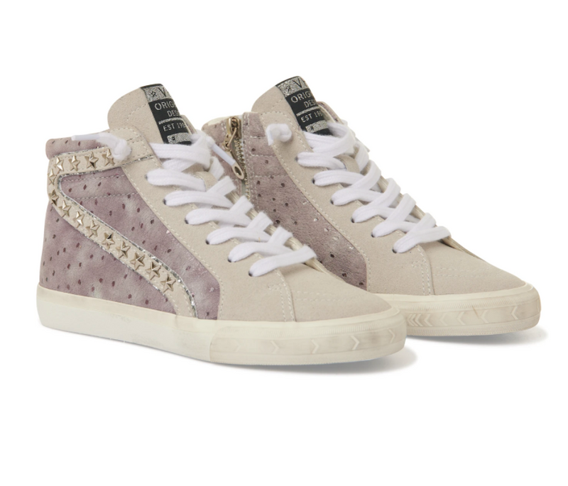 Girls Vintage Havana Sabrina Hightop Sneaker