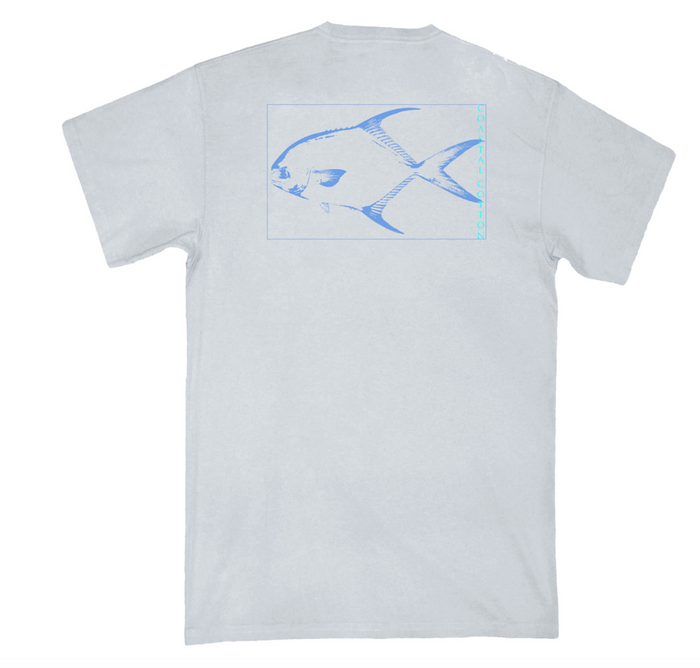 Coastal Cotton Ash Permit Tee