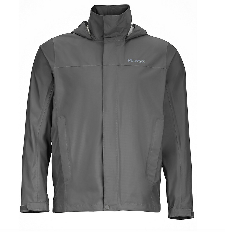 Men's Marmot Precip Jacket- Cinder