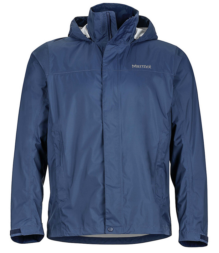 Men's Marmot Precip Jacket- Arctic Navy