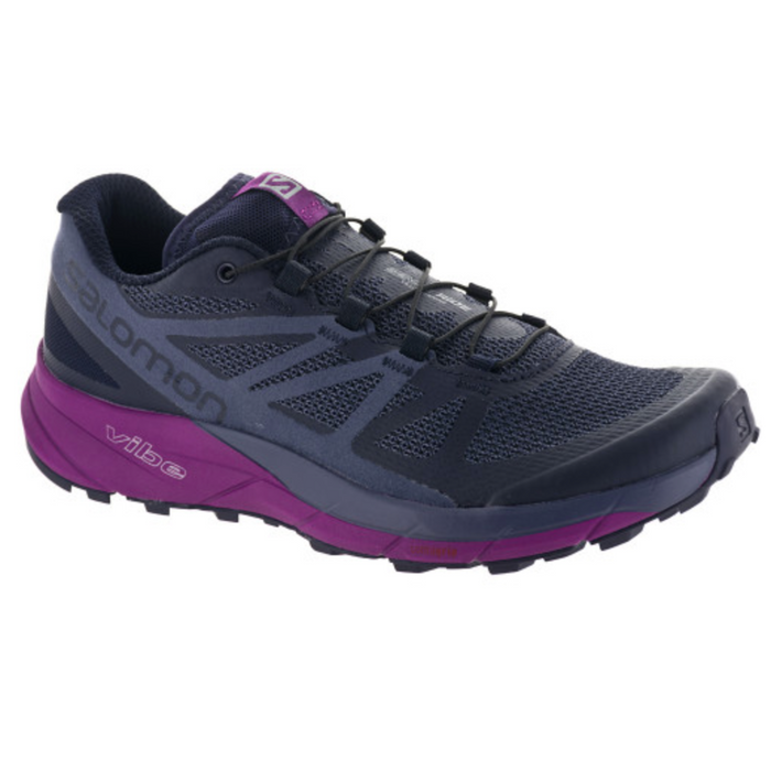 Women's Salomon Sense Ride W- Evening Blue/Crown Blue/ Grade Juice