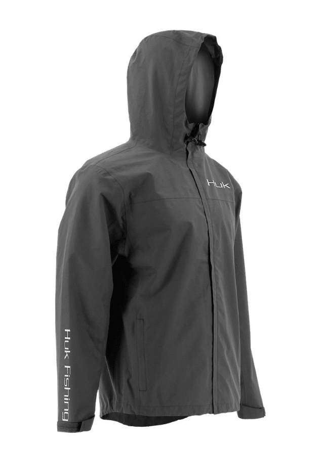 Huk Packable Rain Jacket- 010