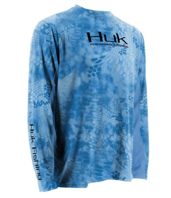 Huk Kryptek Solid Icon L/S- GCB
