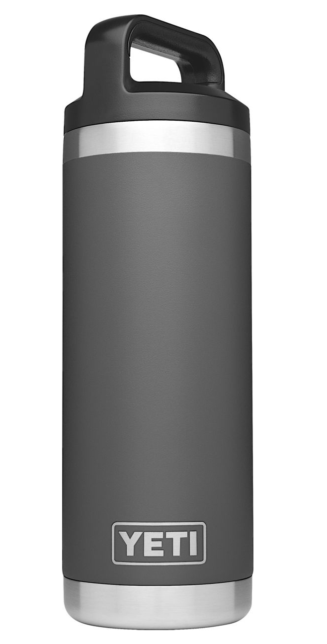 Yeti Rambler 18oz Bottle- Charcoal