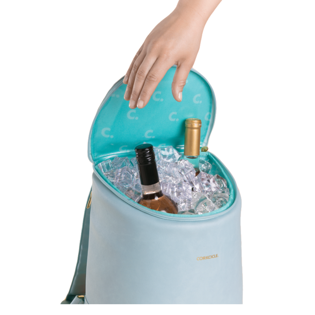 Corkcicle Eola Bucket Bag- Seafoam