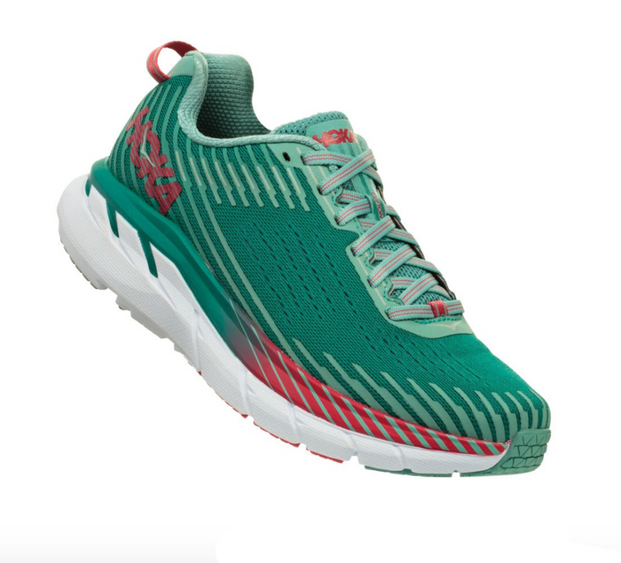 Hoka Clifton 5- Green -Blue Slate/Canton