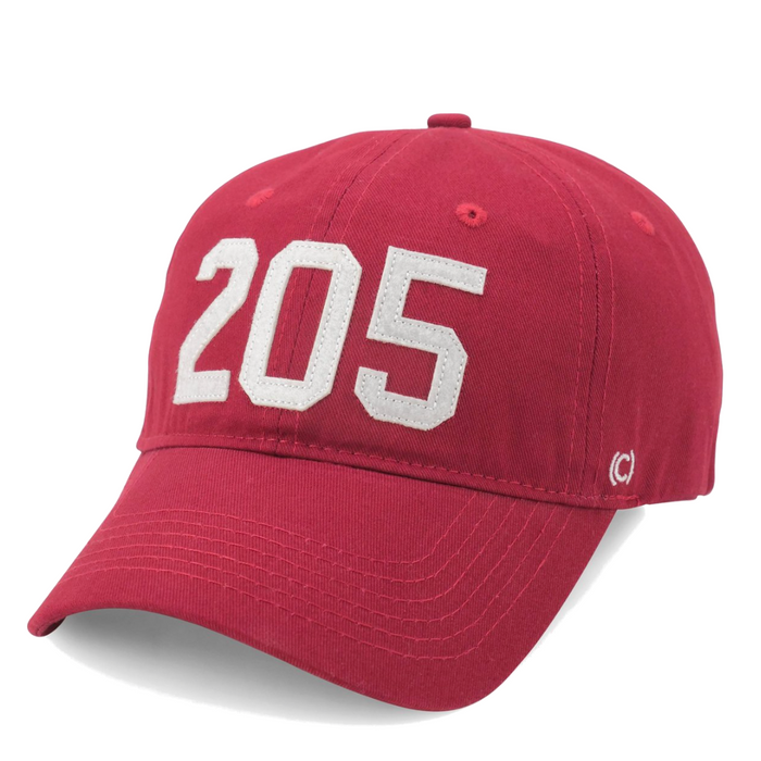 Area Code 205 T-Town Hat - 205-T-TOWN-CRI