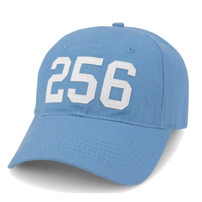 Area Code 256 Rocket City Hat- 256-ROCKET CITY-SKY