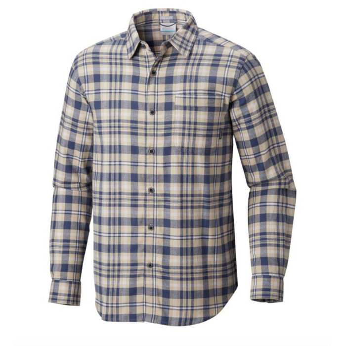 Columbia Boulder Ridge Long Sleeve Flannel- 481 - BOULDER RIDGE L/S-DK.MOU