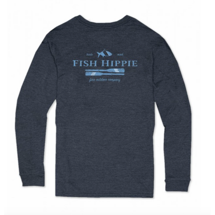 Fish Hippie Steady Dift L/S Tee- FH-LST2060-CHA