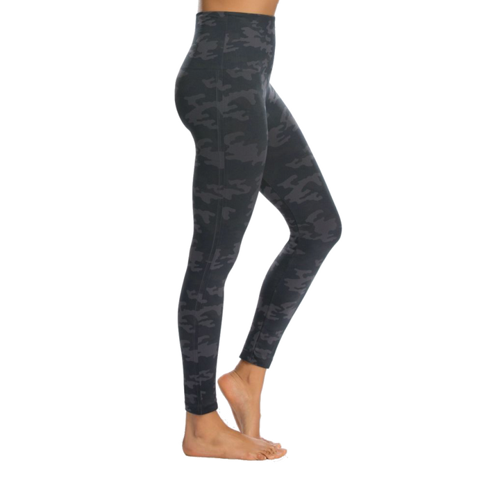 Spanx Look At Me Now Camo Legging- Black Camo- FL3515-BLKCO
