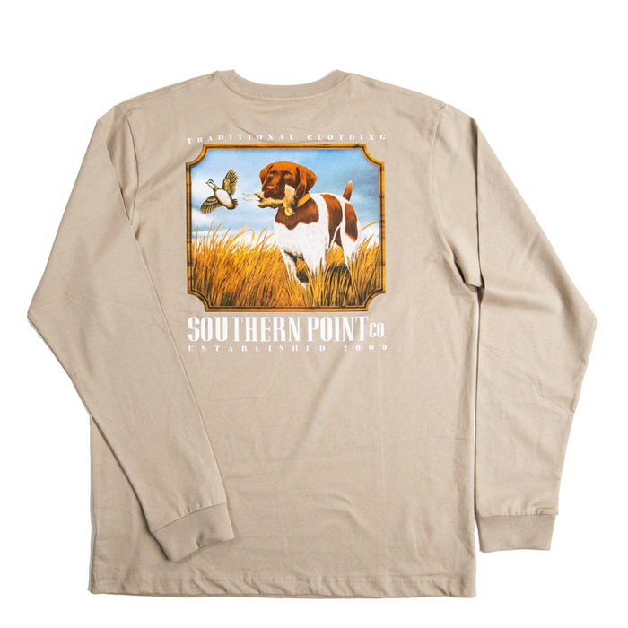 Southern Point Field Greyton L/S Tee - SLT-390