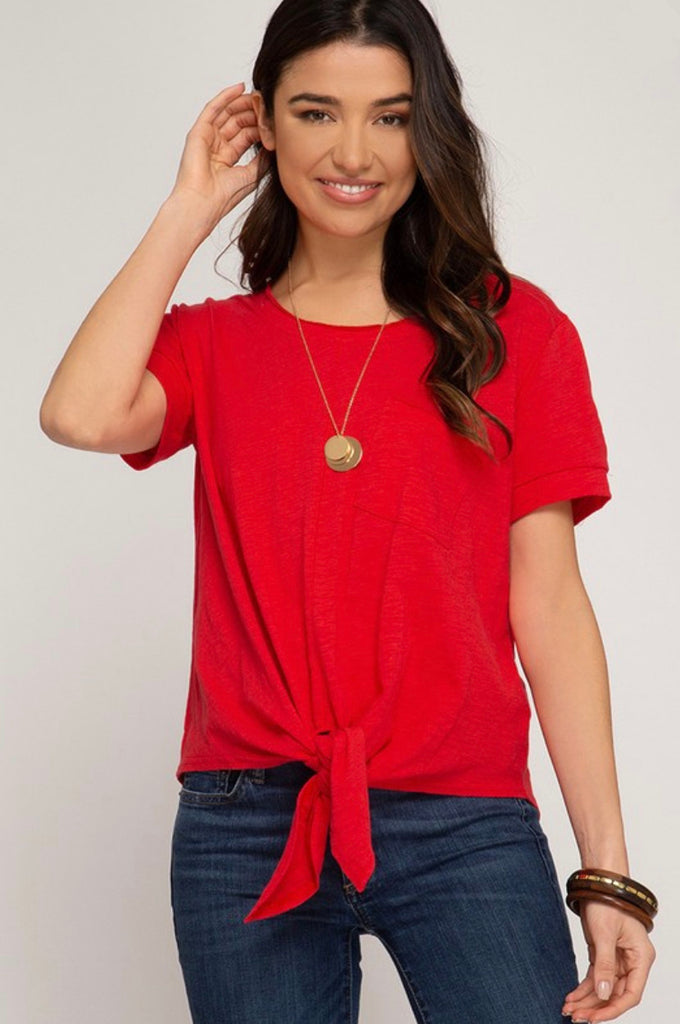 Love To Yesterday Top - SL9571-RED
