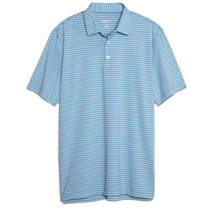 Johnnie-O Barrett Prep-Formance Polo- Capri Blue - JMPO2180-CAP