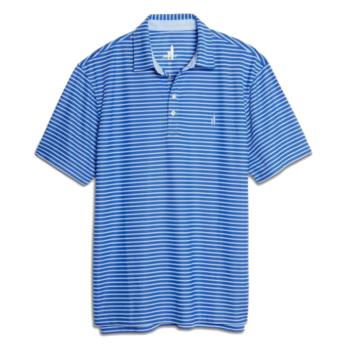 Johnnie-O Linus Dual Striped Prep- Formance Polo- Marlin   - JMPO2170-MAR