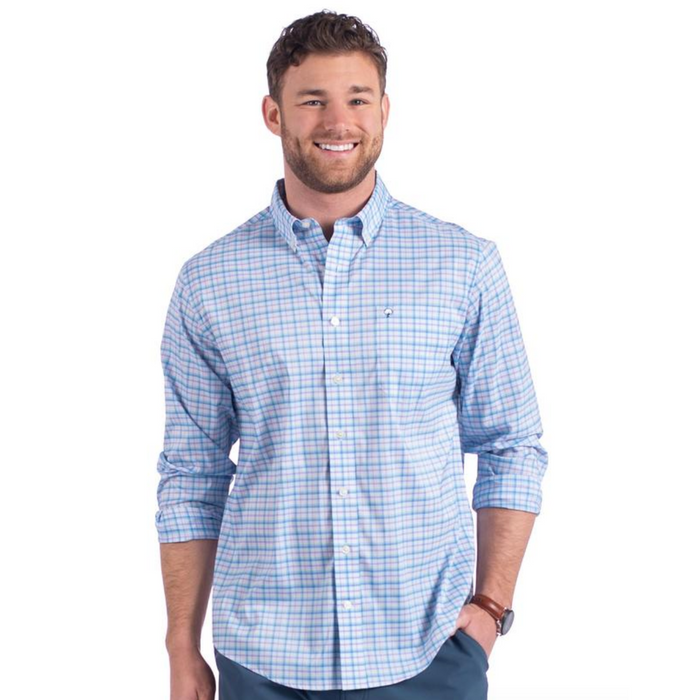 The Southern Shirt Company Low Country Plaid- Neptune - LOW COUNTRY PLAID-NEP
