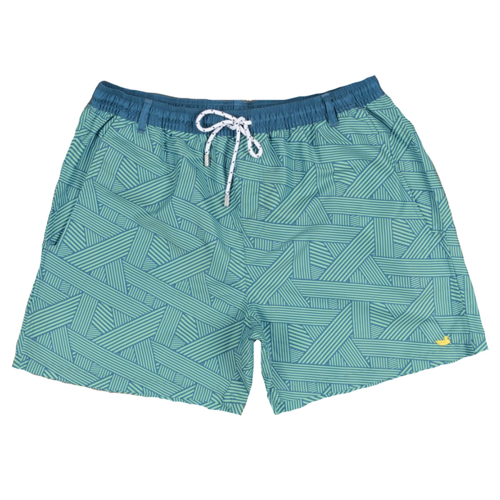 Youth Southern Marsh Dockside Swim Trunk- School's Out - YSDSO-SLMT