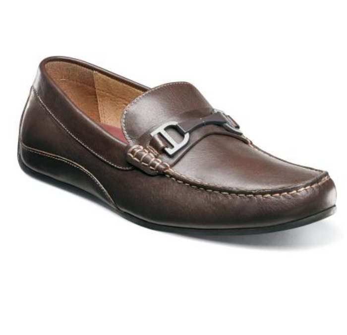 Florsheim Oval Bit Driver- 13301-200- Brown