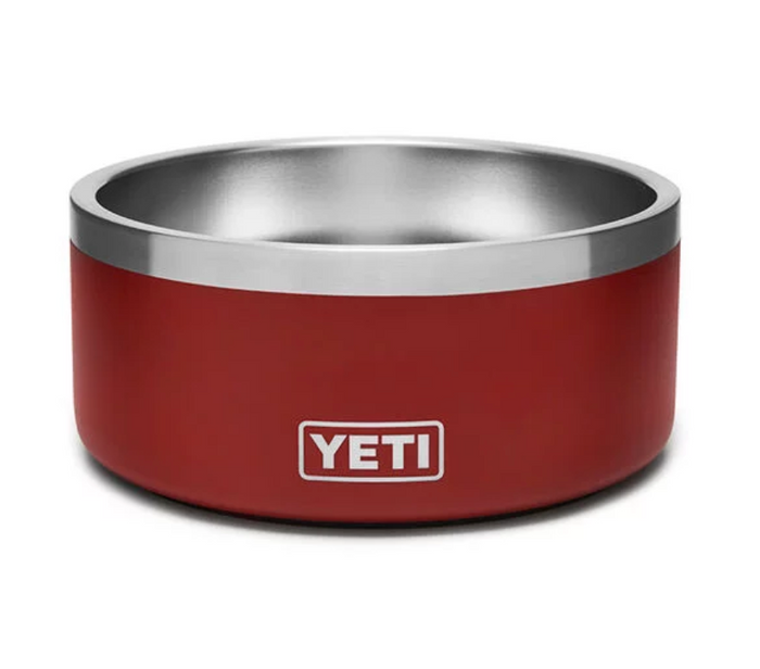 Yeti Coolers Boomer Dog Bowl- Red