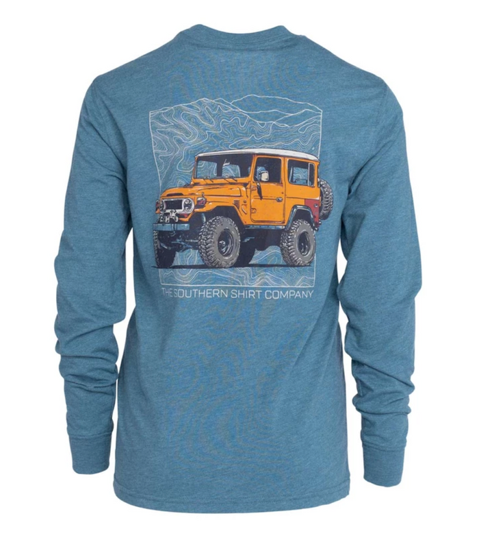 Southern Shirt Company Boy's All Terrain L/S- Tapestry- BOY'S ALL TERRAIN L/S-TAP