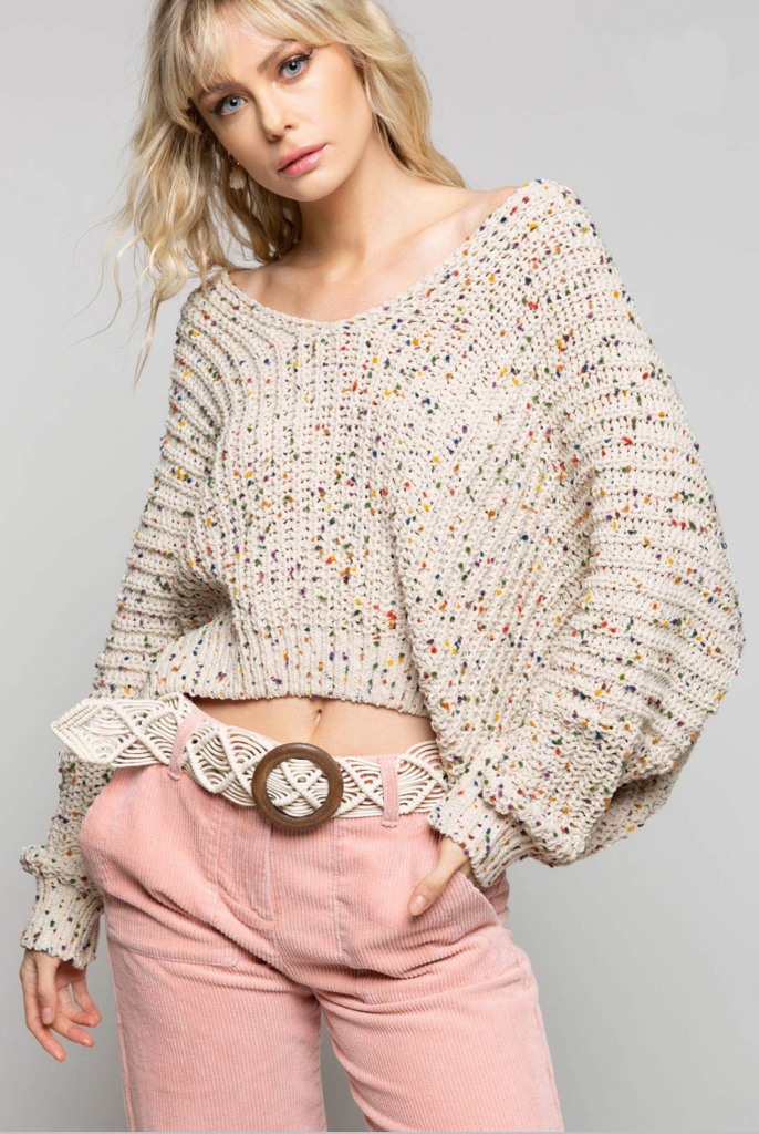 Confetti Party Sweater- BST312