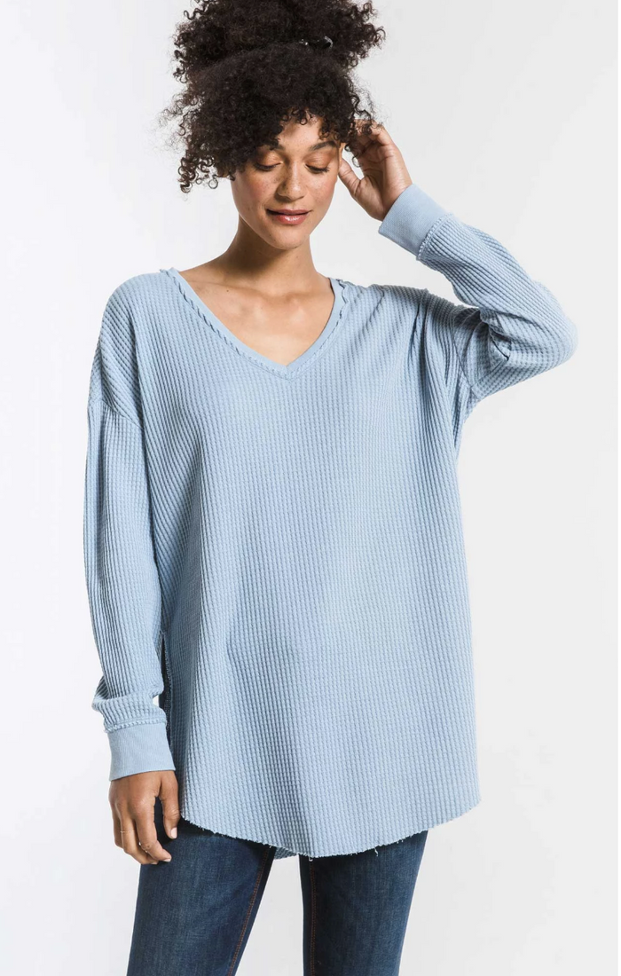 Z Supply Waffle Thermal Tunic- ZT194180