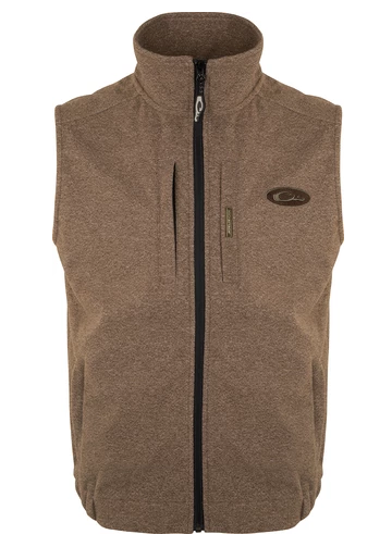 Drake Heather Windproof Layering Vest- DW1605