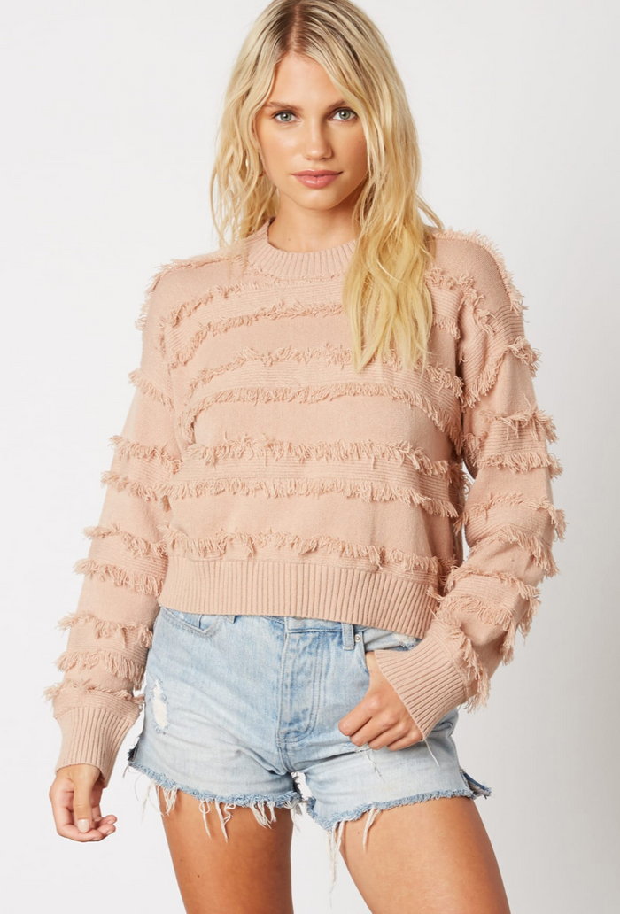 Blushing Over You Sweater- CS-10272