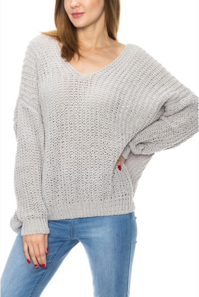 Keepin' Me Cozy Sweater- HR3279