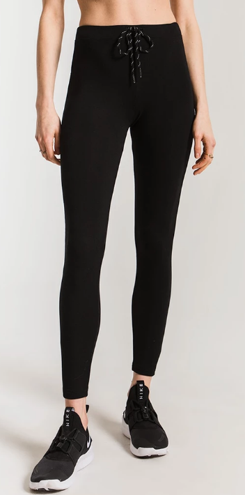Z SUPPLY MOD STRETCH LEGGING- BLACK- ZP193888-BLK