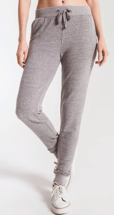 Z SUPPLY TRIBLEND COURIER JOGGER- HEATHER GREY- ZP193878-HGY