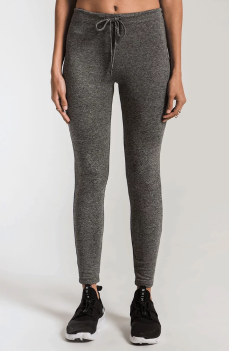 Z SUPPLY MOD STRETCH LEGGING- HEATHER GREY- ZP193888-HGY