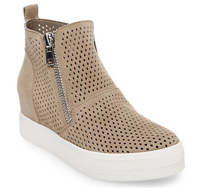 Steve Madden Wedgie P- Taupe