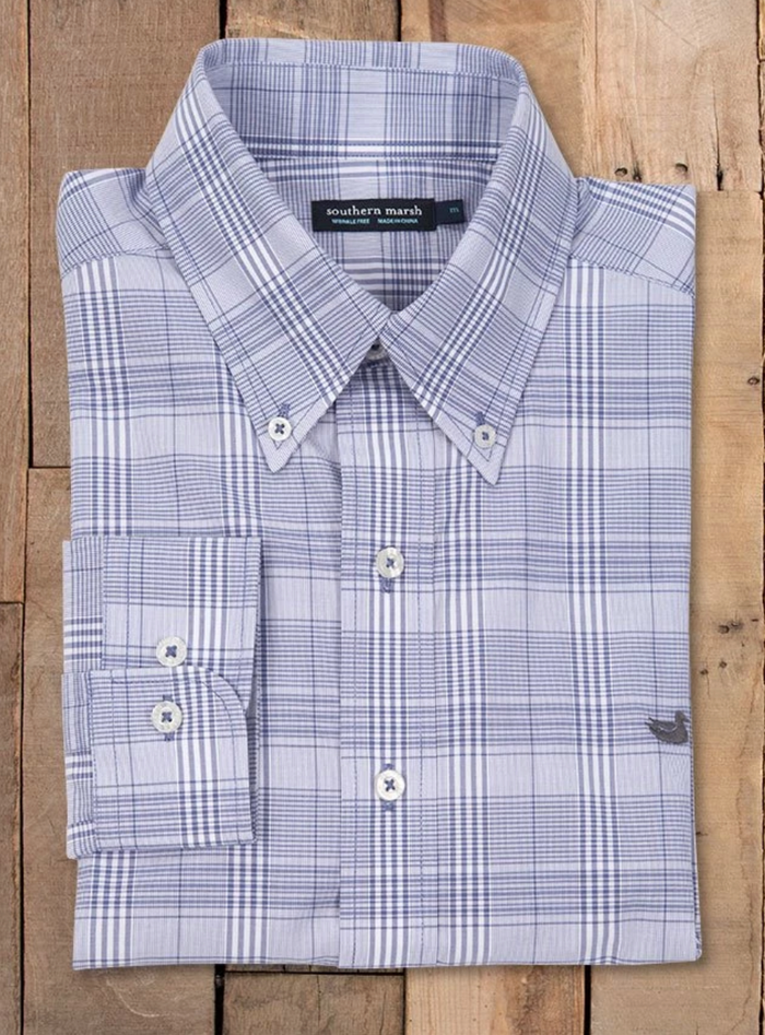 Southern Marsh Morgan Check Dress Shirt- WMGN RYWT
