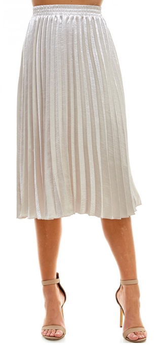Holiday Party Approved Skirt- Champagne- CS3367