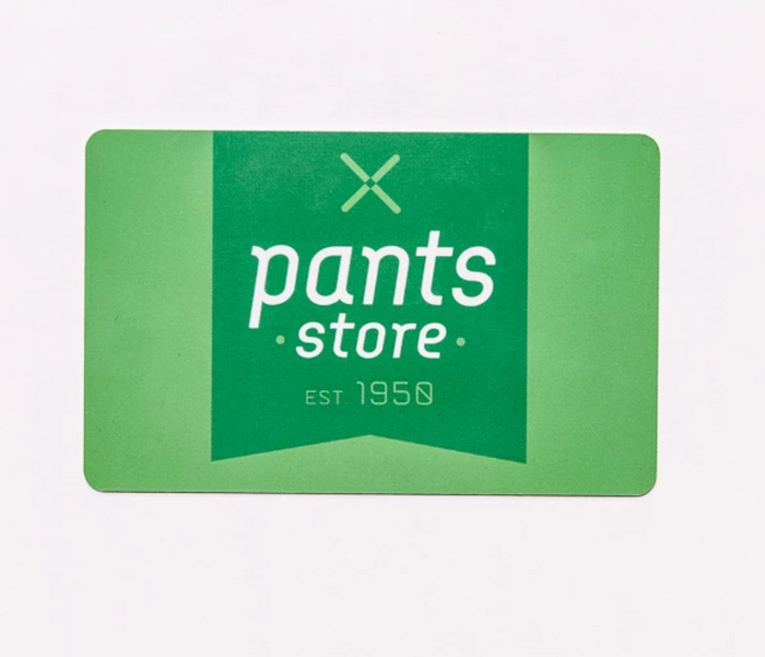 Pants Store Gift Card