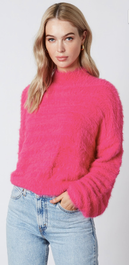 Ready To Flamingle Sweater- Orchid- CS-10470